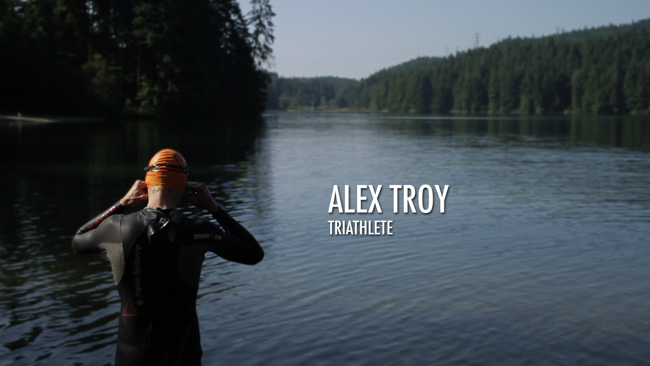 Alex Troy Triathlete Video